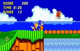 Video Game Animations Sonic