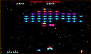 Video Game Animations Galaxian